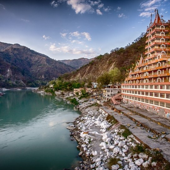 Rishikesh in Nord-Indien